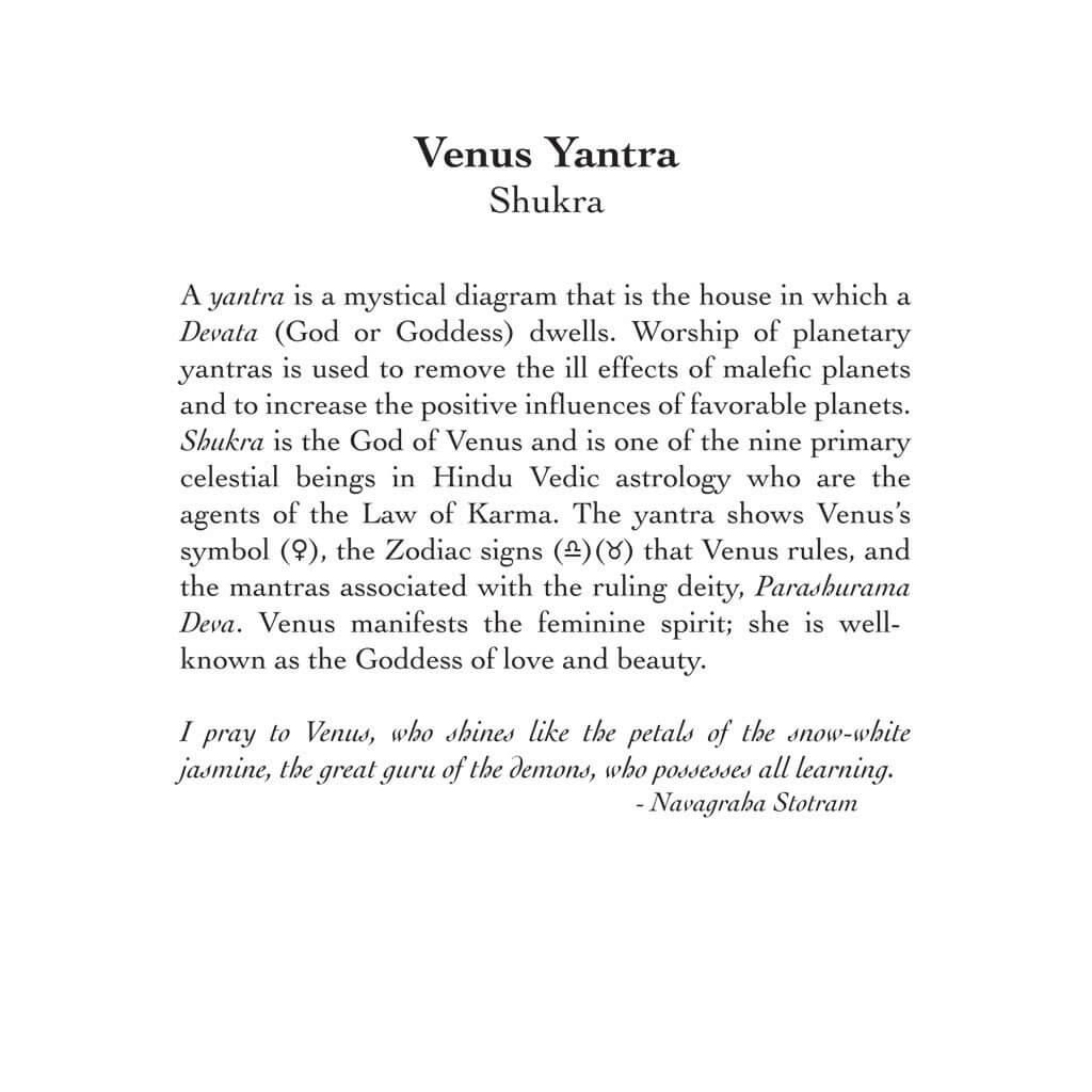 Venus Yantra