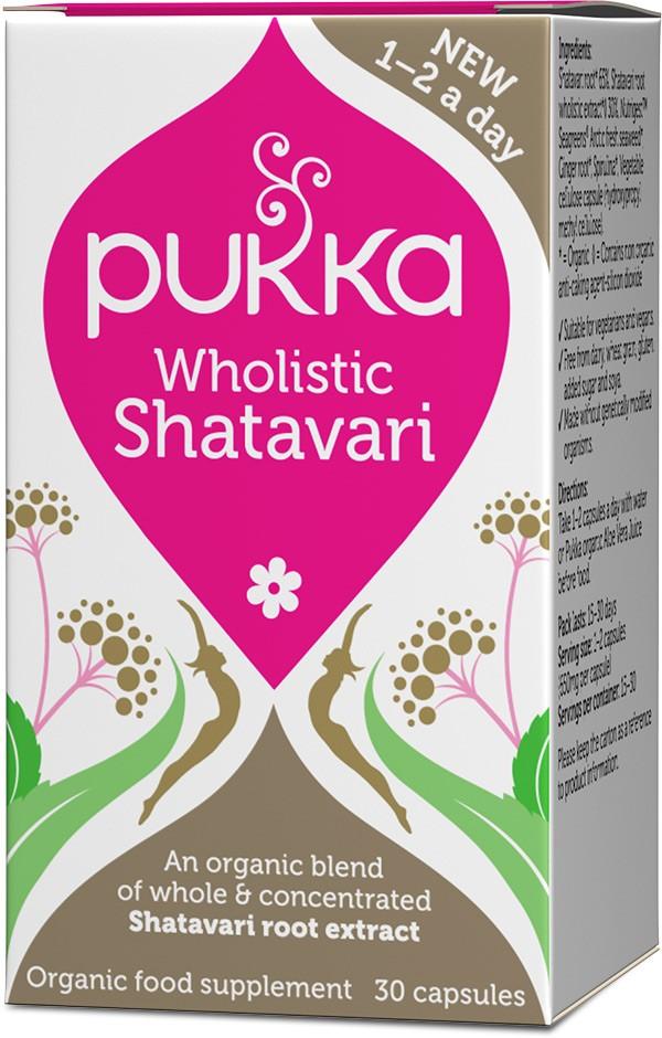 Wholistic Shatavari, bio