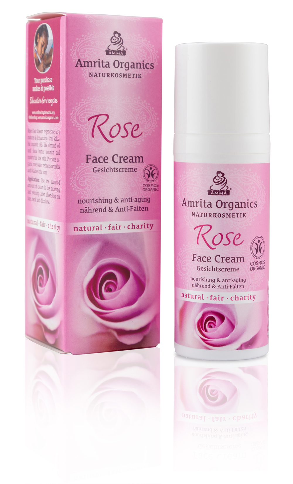 Rose Gesichtscreme