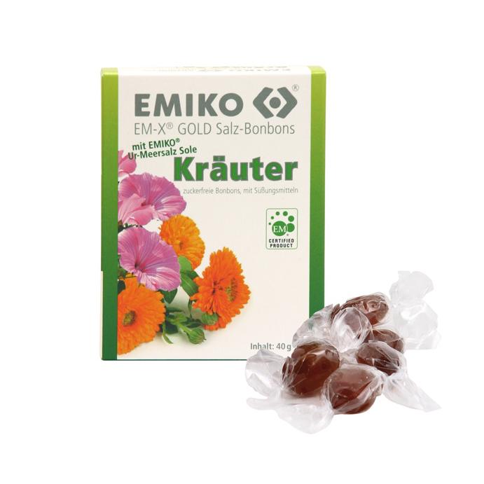 EM-X Gold Salz-Bonbons Kräuter