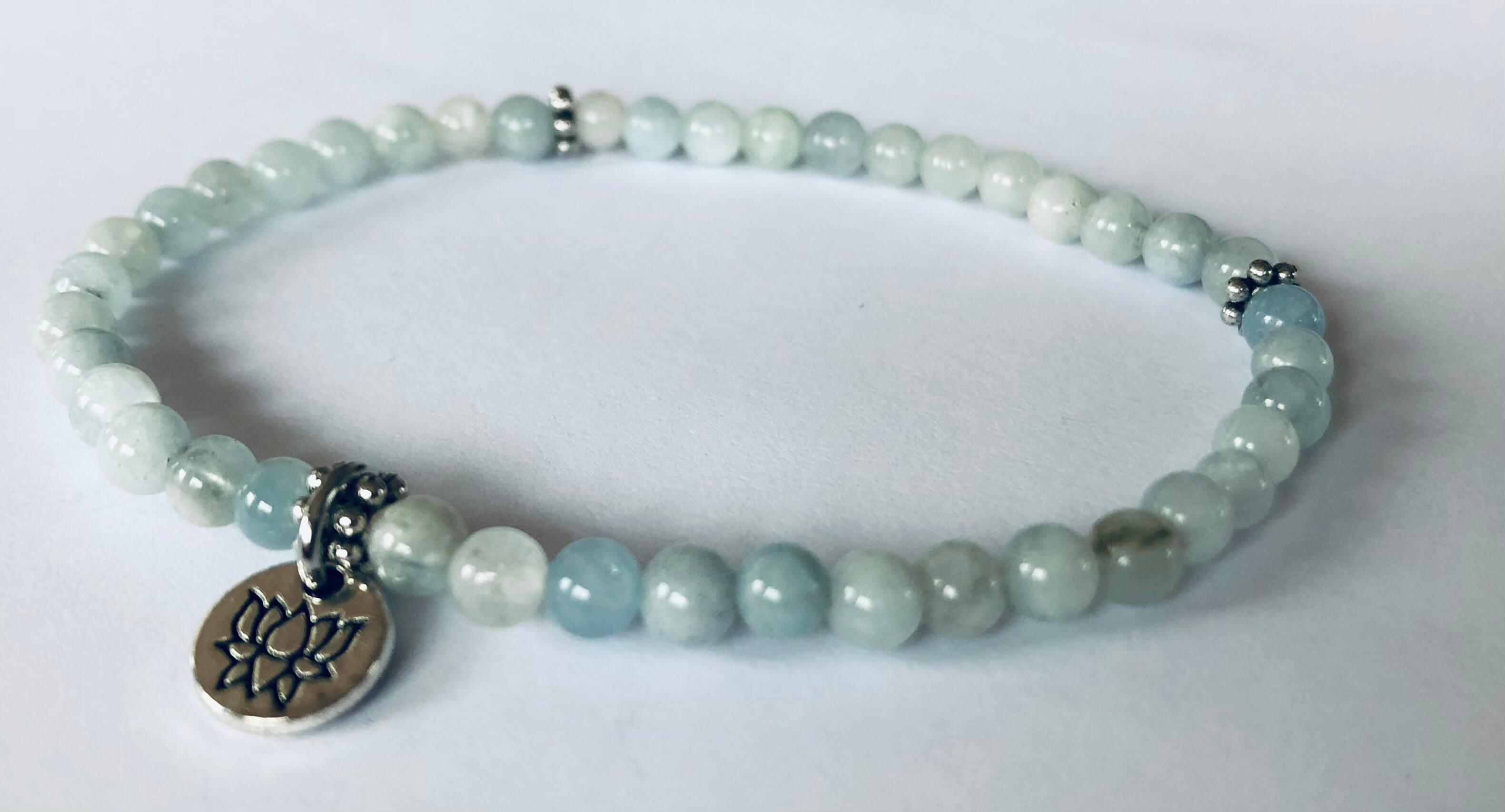 Aquamarine Armband