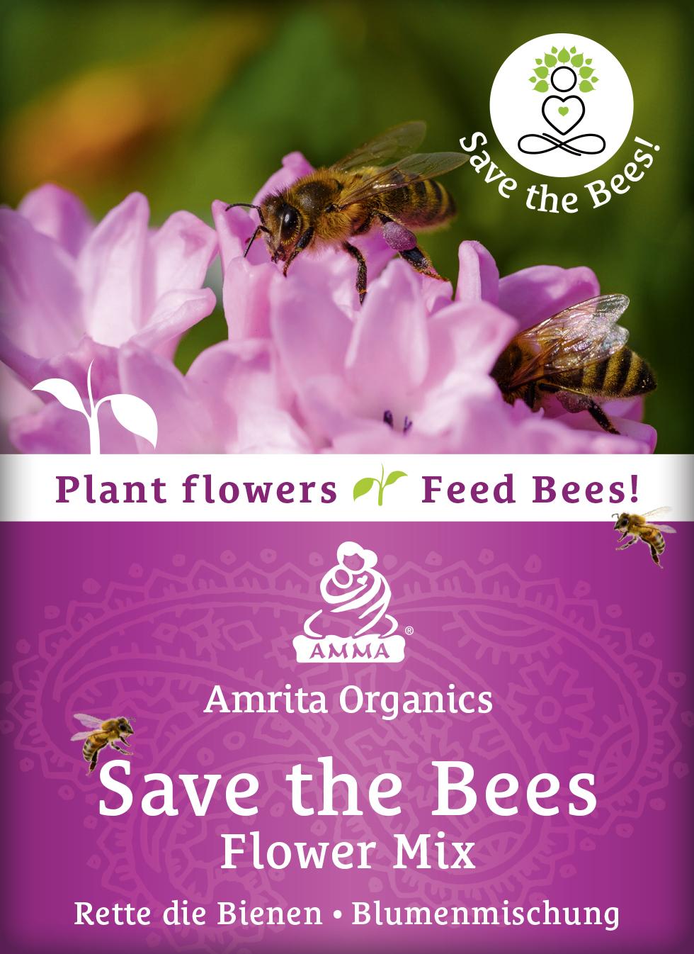 Rette die Bienen - Blumen Mischung, bio