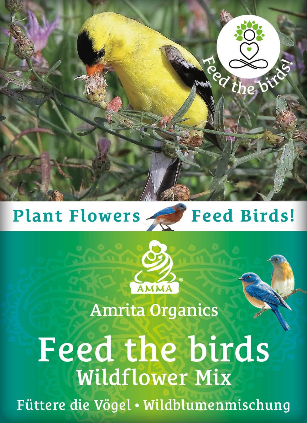 Füttere die Vögel - Wildblumenmischung, bio