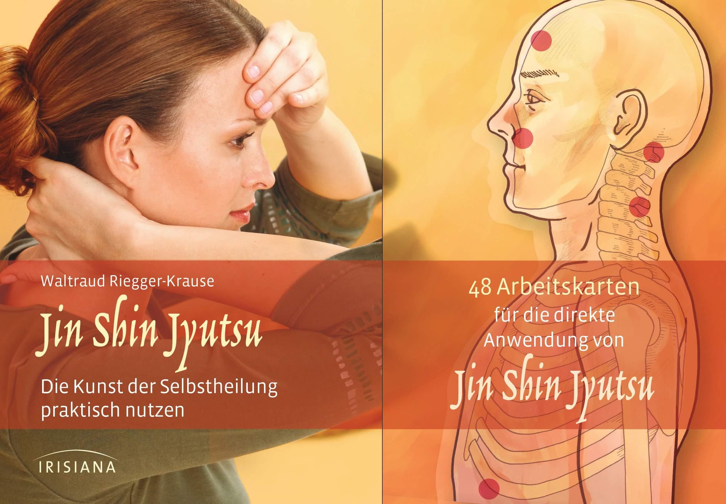 Jin Shin Jyutsu-Set, Buch mit 48 Karten