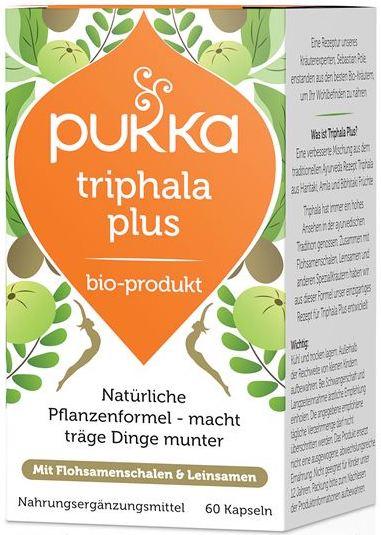 Triphala Plus, bio