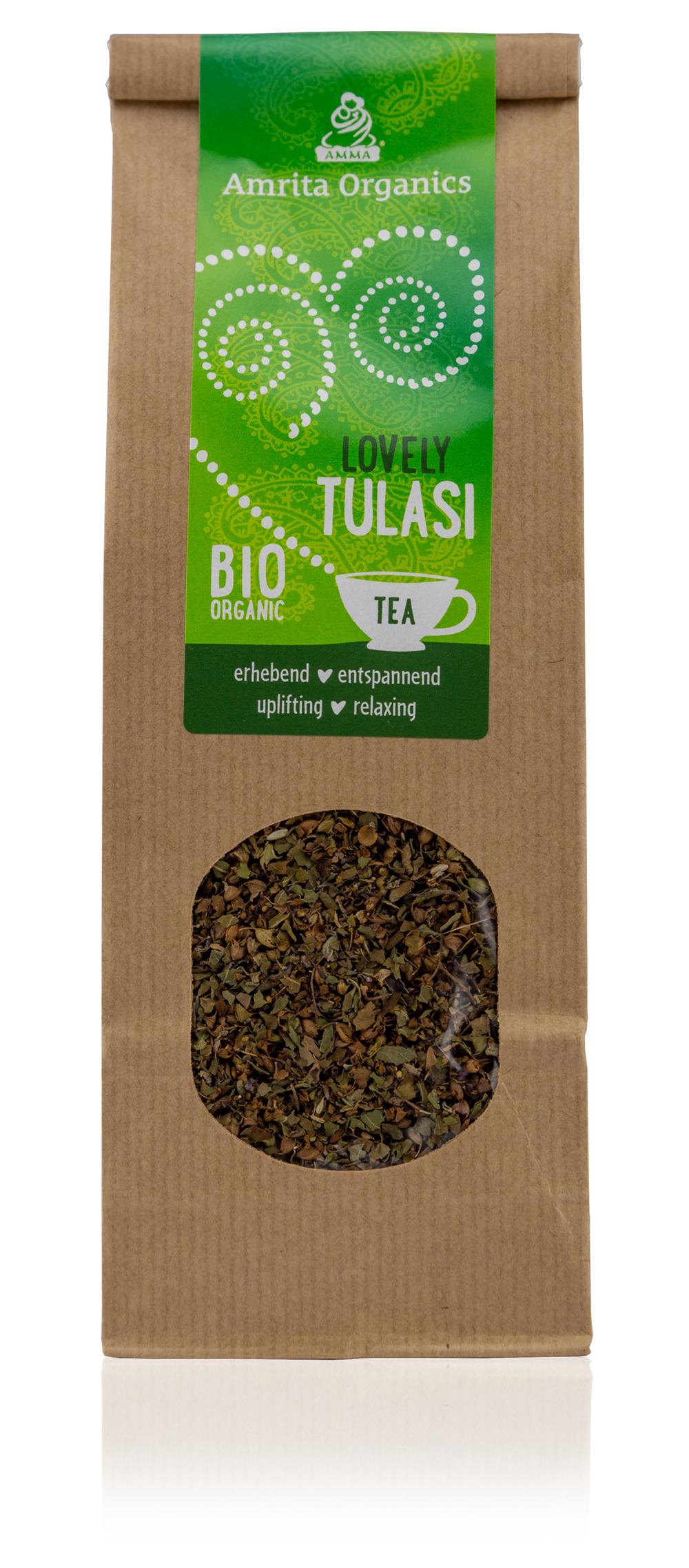 Lovely Tulsi Tee, bio