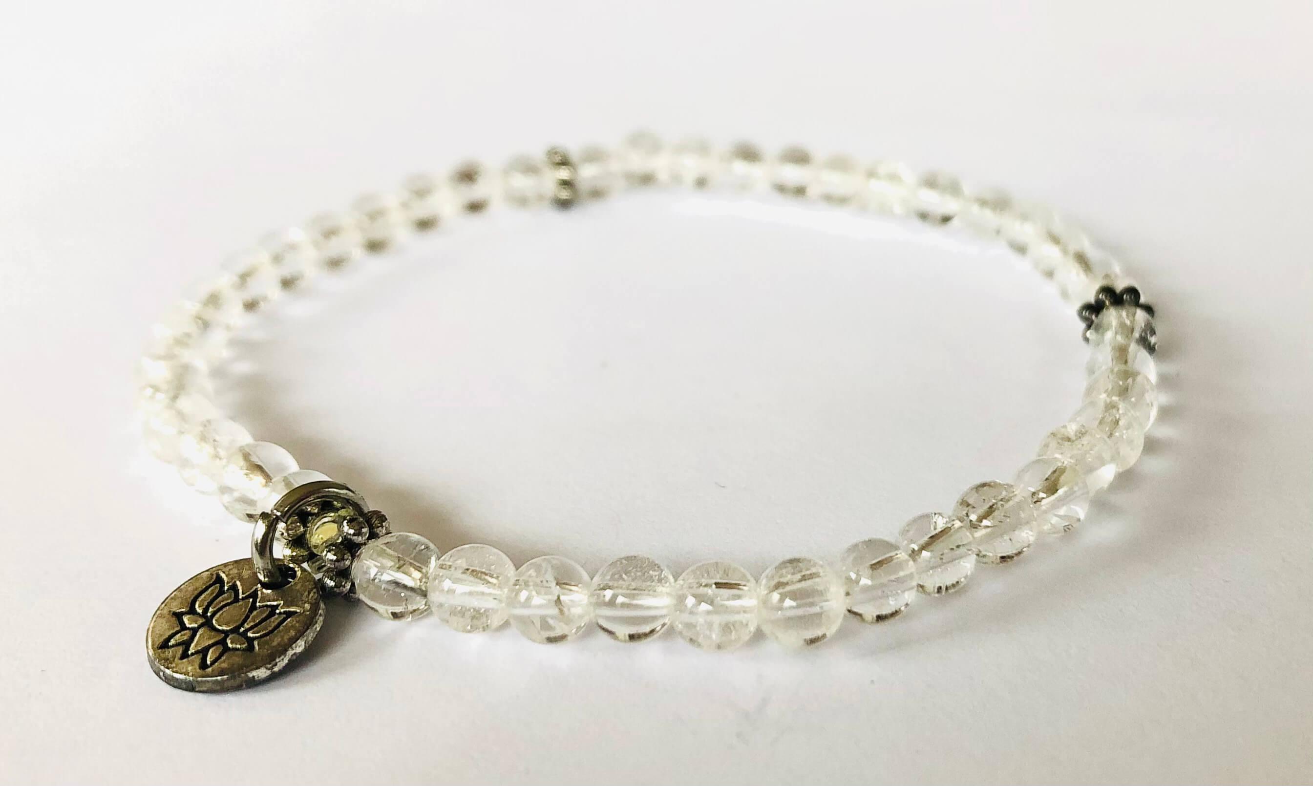 Bergkristall Armband