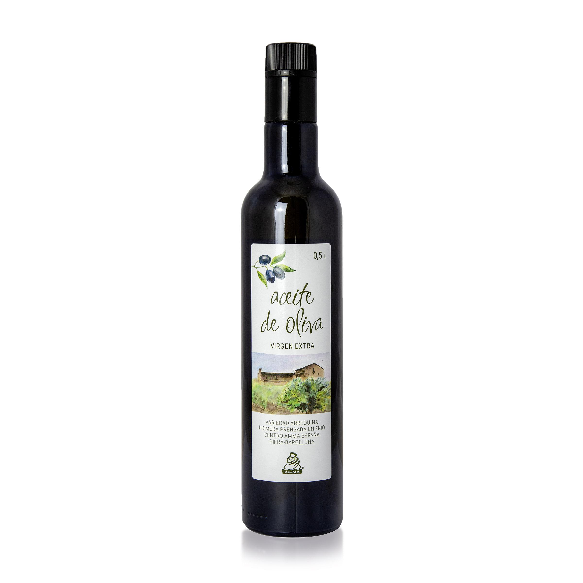 Spanisches natives Olivenöl extra 0,5 Liter
