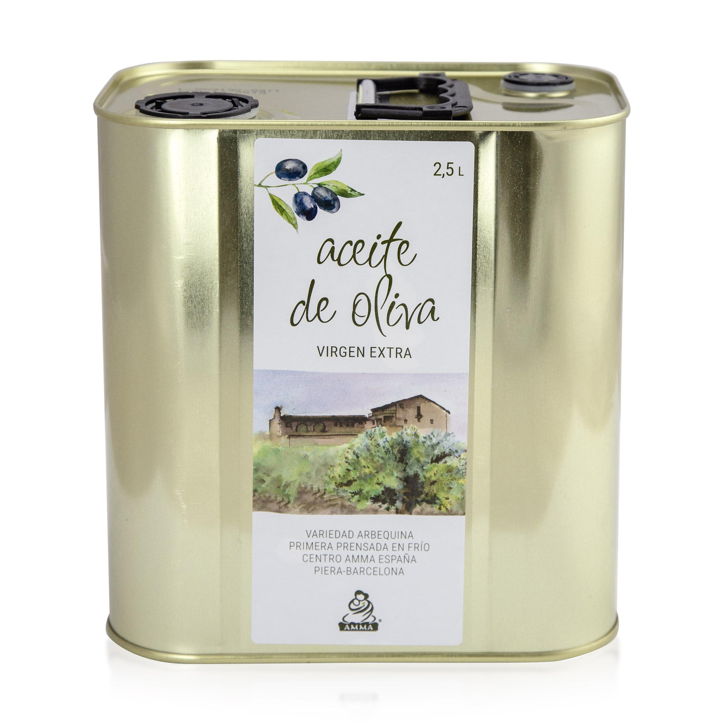 Spanisches natives Olivenöl extra - 2,5 Liter
