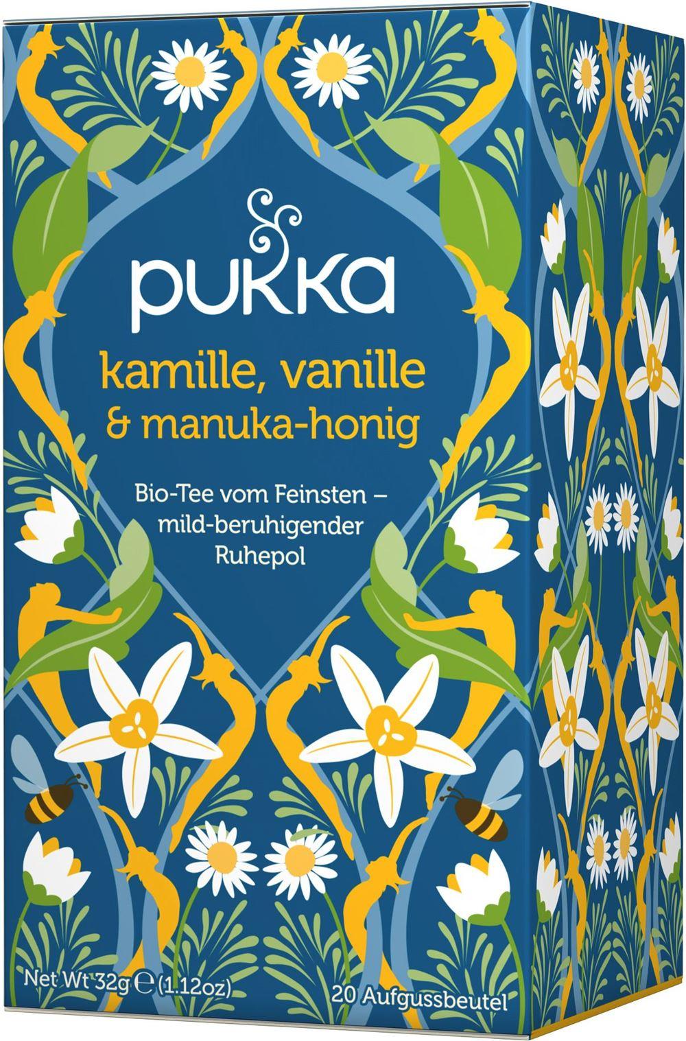 Kamille, Vanille & Manuka-Honig, bio Tee