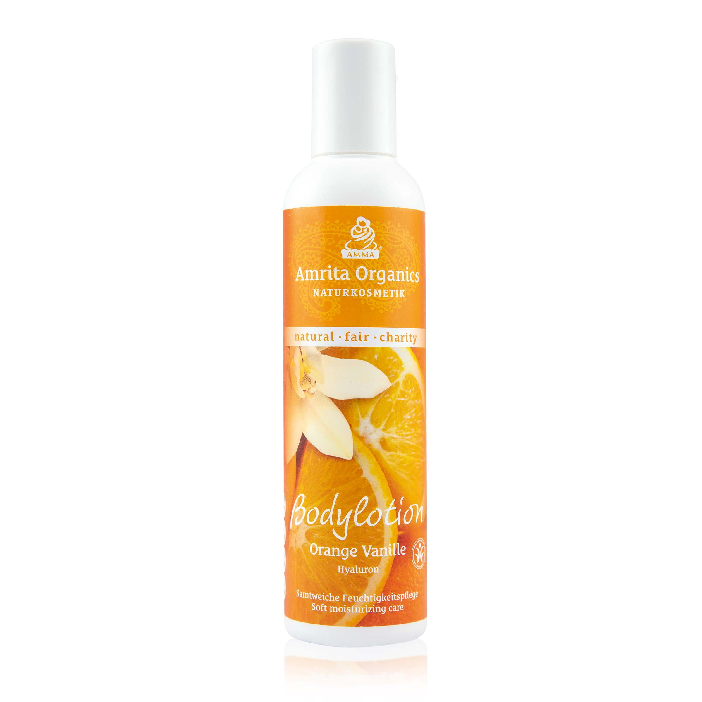 Körperlotion Orange-Vanille mit Hyaluron