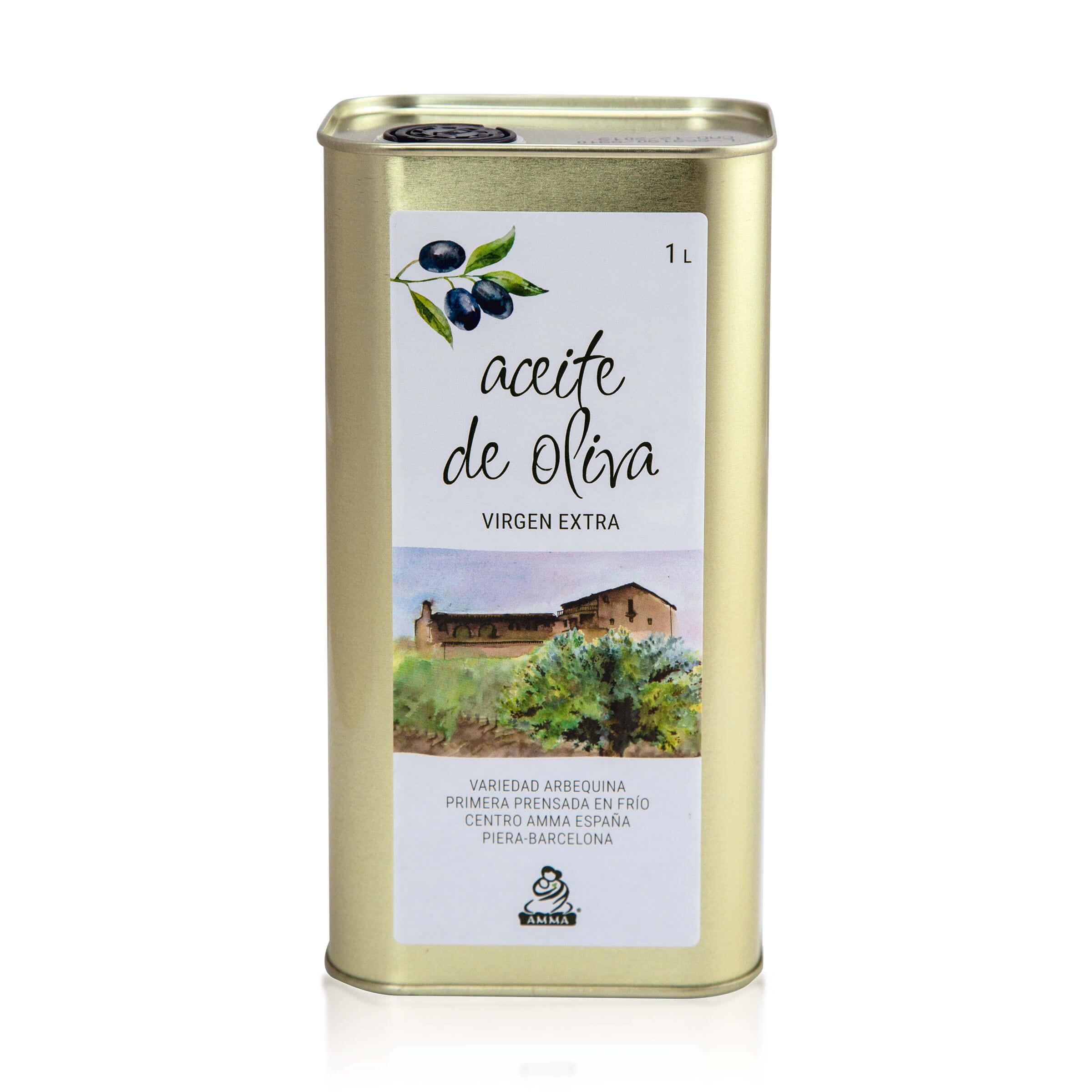Spanisches natives Olivenöl extra, 1 Liter