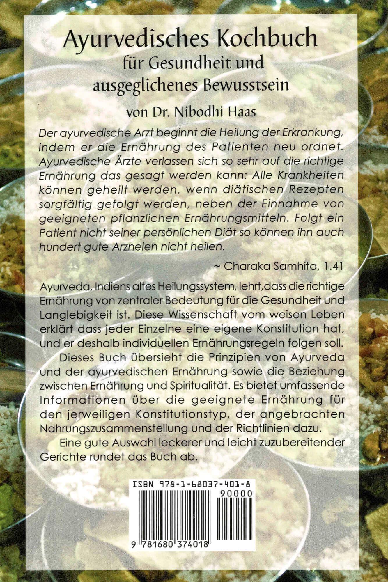 Ayurvedisches Kochbuch