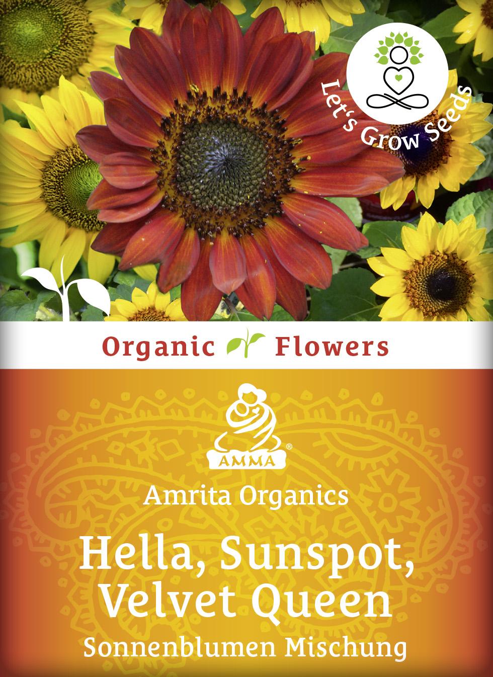 Sonnenblumen Mischung, bio