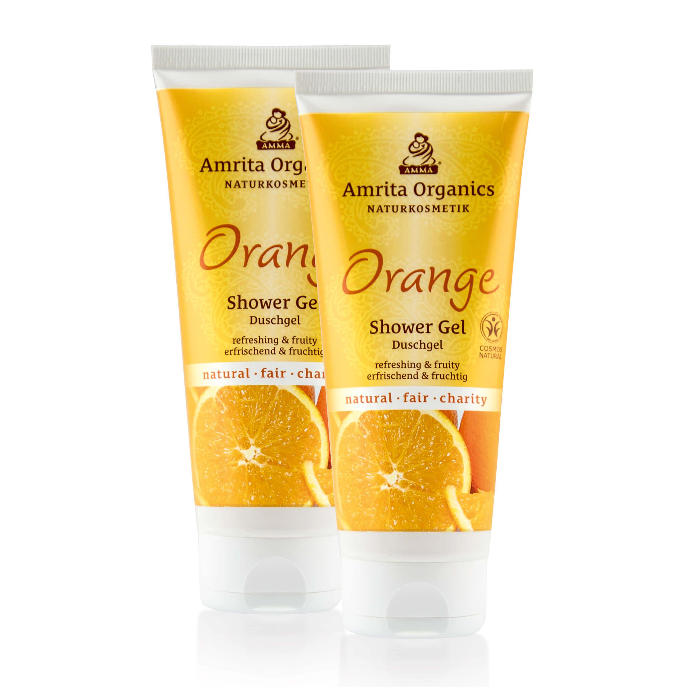 Duschgel Orange