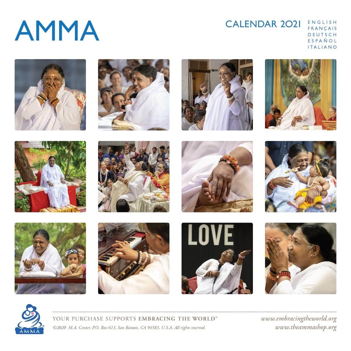 AMMA 2021 Kalender