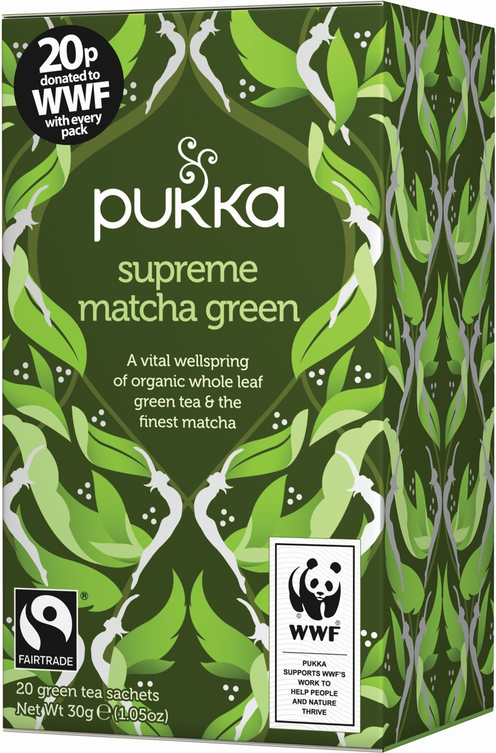 Matcha Green, bio Tee
